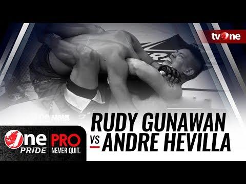 [HD] One Pride MMA #3: Rudy Gunawan VS Andre Hevilla - Welterweight Tournament
