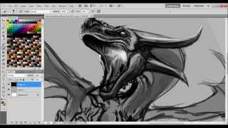 Electric Breather (dragon speed paint)