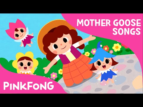 Mary, Mary, Quite Contrary | Mother Goose | Nursery Rhymes | PINKFONG Songs for Children