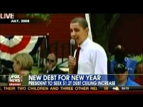 Obama railed against deficits until he became record big spender