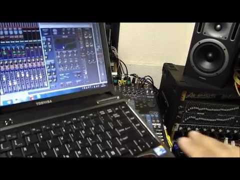 Tutorial: Sistema de Controle de Mesa Digital Yamaha 01v96 via Wireless - Parte II