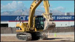 Las Vegas Dig THIS! Fun with a Caterpillar 315C Excavator.