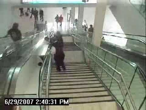 Adelaide Airport Escalator Accident