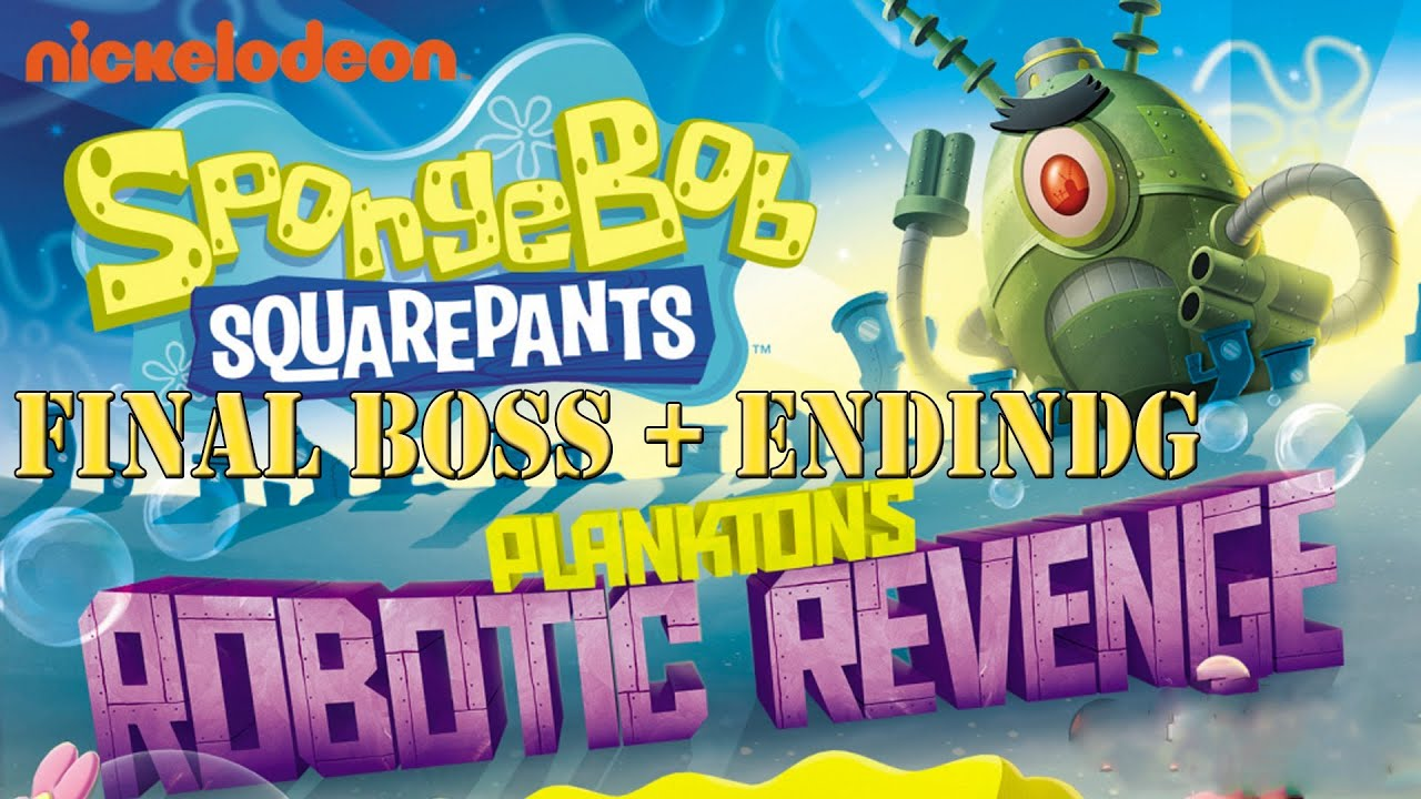 spongebob squarepants planktons robotic revenge hd