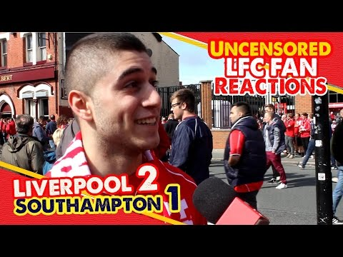 'I'm so happy' | Liverpool 2 - 1 Southampton | LFC Fan Reactions