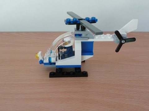 Lego city Lego 30226 Police helicopter  promotional polybag 2014
