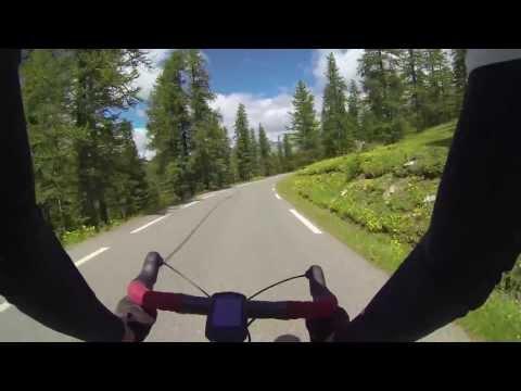 Descent of Col D'Izoard August 2013 - GoPro Hero3 Raw footage