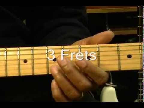 How To Play An Electric Guitar Solo Without Even THINKING About Scales #1 A Minor