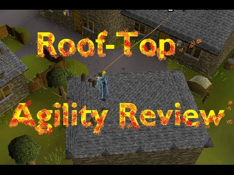Rooftop Agility Guide [Exp Rates/Commentary] Runescape 2007
