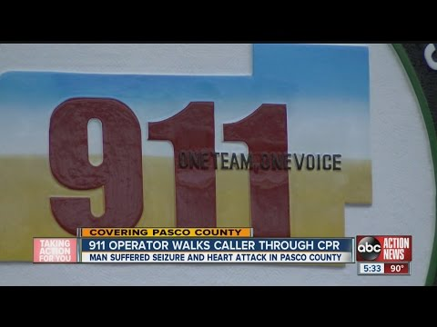 Pasco 911 operator helps son save father's life