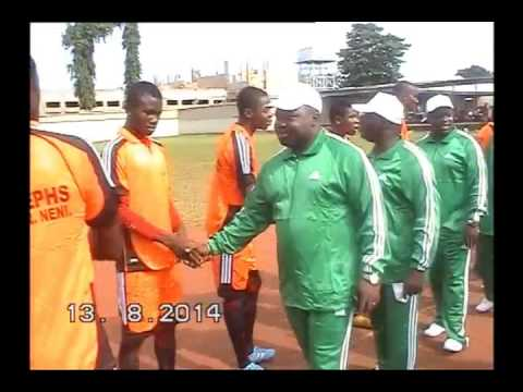 CHARLES AND FR WILLY SPORTS ACADEMY NIGERIA