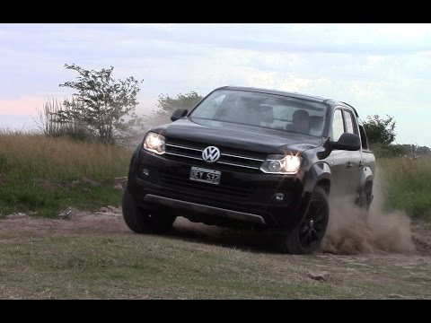 Prueba Volkswagen Amarok Dark Label