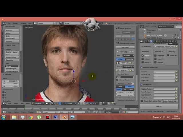 Как сделать свое лицо для fifa 14