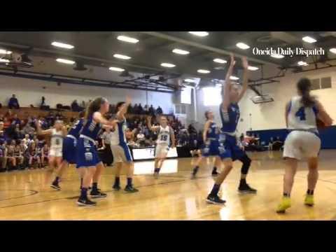 #Whitesboro defeats #Camden 41-24 to advance to the Section III Class A girls #basketball