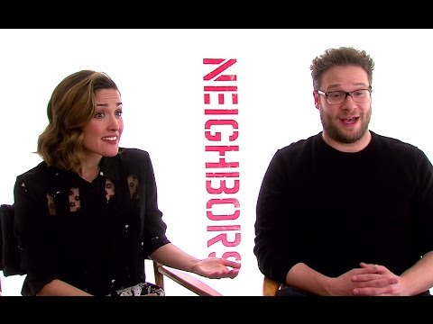 Seth Rogen & Rose Byrne Interview - Neighbors (2014) JoBlo.com HD
