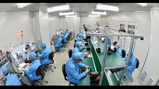 Tổng thể buổi tham quan nhà máy sản xuất Bphone