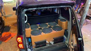Installed 6 Woofers Inside Mahindra Scorpio   Mahindra Scorpio Audio Upgraded