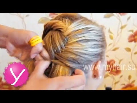 Видео как заплетать волосы