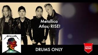 "Metallica ""Atlas, RISE!"" Drums Only ""Backing Track"""