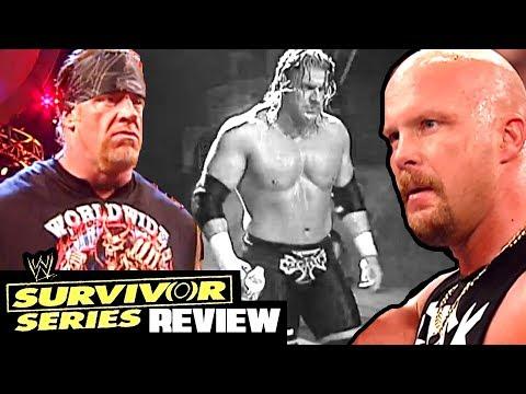 Going in Raw Reviews Survivor Series 2003