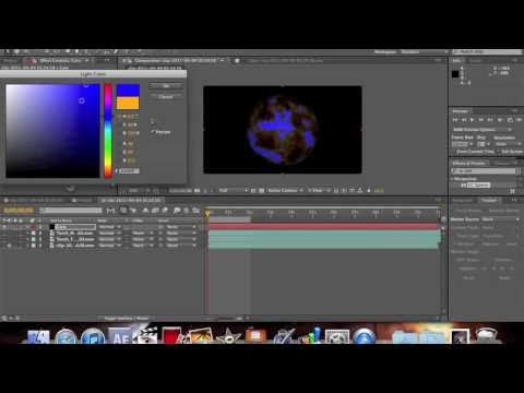 After Effects Fireball Tutorial