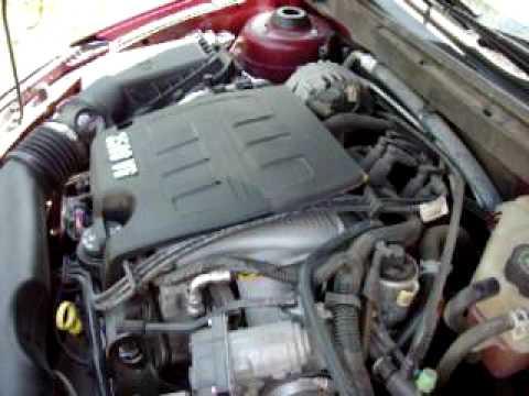 pontiac  strange engine noise youtube