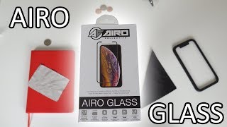 Airo Glass iPhone XS Screen Protector Hands-On