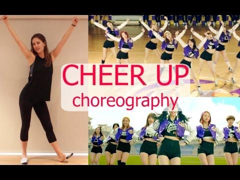 Twice 'CHEER UP' (트와이스) Dance Tutorial | Andrea Wilson
