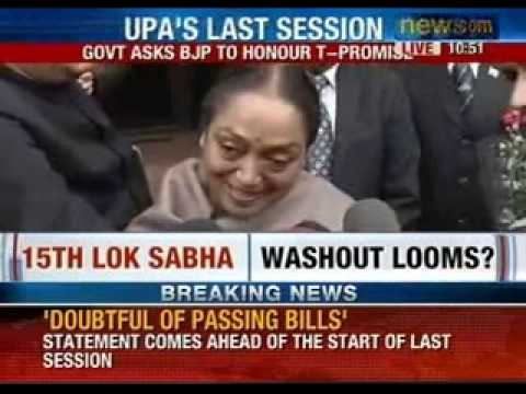 Sushma Swaraj issues a notice to Lok Sabha speaker Meira Kumar - NewsX