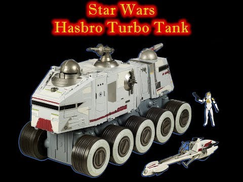 MrByZ Reviews Episode #108 Hasbro Star Wars Turbo Tank Review
