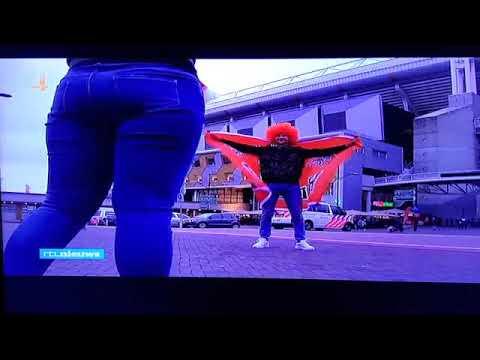 RTL Nieuws presentator Peter van Zadelhoff beledigd Oranje supporters tijdens live uitzending!