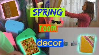 DIY spring room decor and organization tips-collab w.Sheni's vlogs-