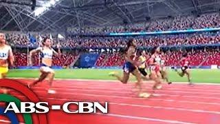 Bandila: Filipinos are Southeast Asia's fastest man, woman