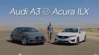 Acura ILX vs. Audi A3 - Video Review Comparison