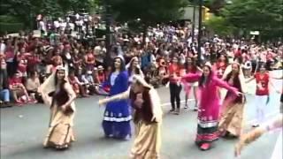 رقص گروه ایرانی در روز ملی کانادا  Canada Day Parade 2014