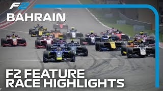 Formula 2 Feature Race Highlights | 2019 Bahrain Grand Prix