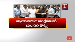 Minister Indrakaran Reddy Conducts Review Meet On Lawyers Welfare  live Telugu - netivaarthalu.com