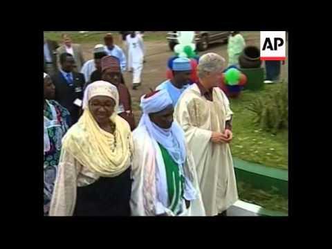 NIGERIA: US PRESIDENT CLINTON VISIT