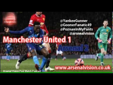 Arsenal Vision Post Match Podcast - EP22: Manchester United 1 Arsenal 2 - Victory at last
