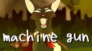 Коты-воители•machine gun