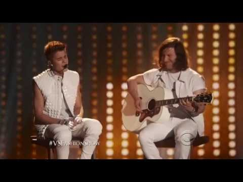 Justin Bieber live in Victoria Secret Fashion Show 2012  HD