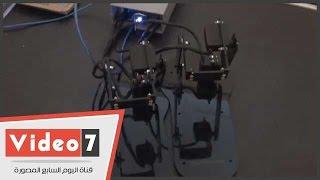 بالفيديو..طلاب هندسة بيتكرون روبوت يستطيع دخول حقل ألغام دون تأثر