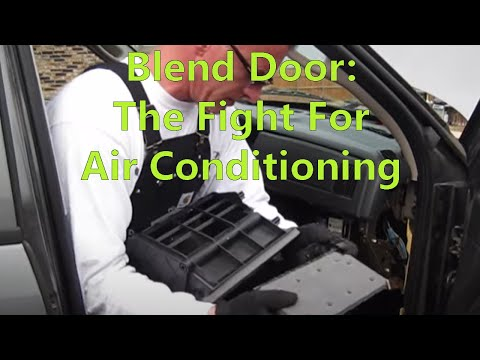 www.dirtyshirt.info: Blend Door Repair - 2005 Dodge Ram 1500 Pickup Truck