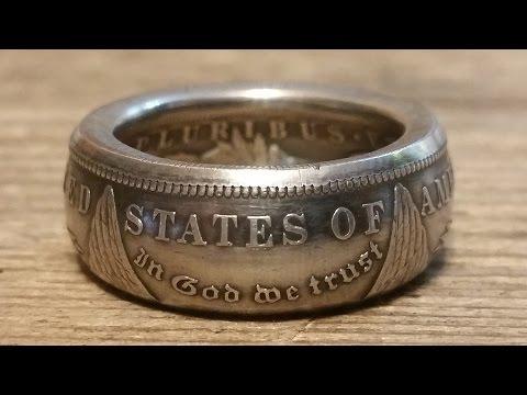 Как сделать кольцо из монеты с гербом ссср