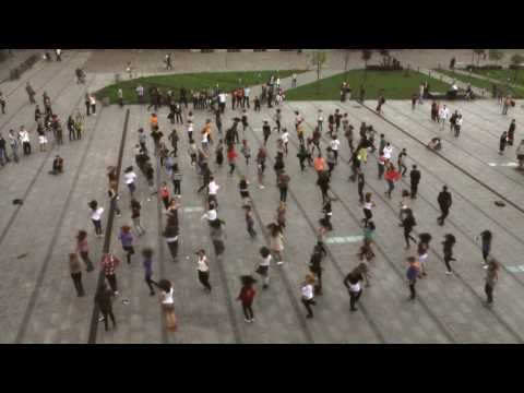 Flash Mob - Cracow Dance Connection 29.04.2011 - Kraków - CDC