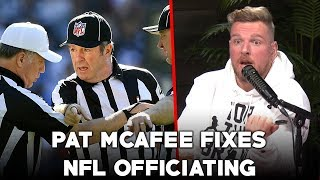 Pat McAfee Fixes NFL Refereeing