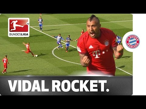 Goal Machine Arturo Vidal Strikes Again