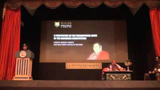 4th Friday Forum: A Perspective on the Philosophical Basis of the Bhutanese Constitution