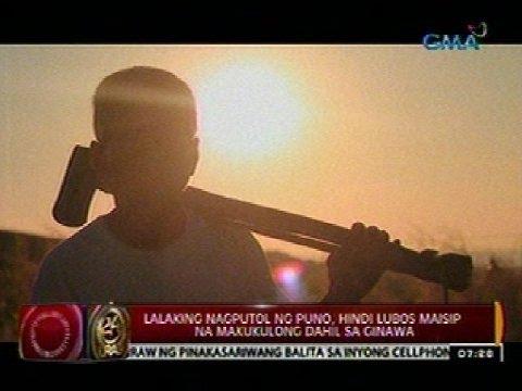 24 Oras: Panata Ko: Dating Kaaway Ng Kalikasan, Isa Na Ngayong Tagapagtanggol Ng Kagubatan video