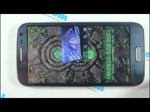 S9500 Unboxing GPS PLAY GAME - Economic Samsung Galaxy S4 Clone